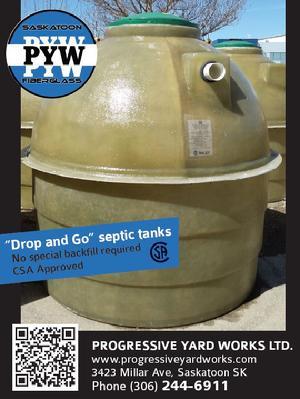 Progressive Yard Works LTD -Fiberglass Septic and Water